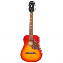 EPIPHONE HUMMINGBIRD UKULELE TENOR FADED CHERRY BURST