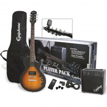 PACK CHITARRA ELETTRICA EPIPHONE LES PAUL PLAYER PACK VINTAGE SUNBURST