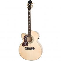 EPIPHONE EJ 200CE LEFTY LIMITED EDITION NATURAL