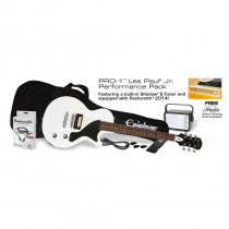 EPIPHONE PRO 1 LES PAUL JR.PERFORMANCE PACK ALPINE WHITE