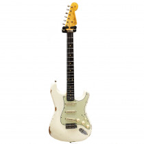 FENDER LIMITED EDITION '60 STRATOCASTER RELIC RW AGED OLYMPIC WHITE (CUSTOM SHOP)