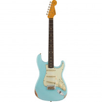 FENDER WINTER NAMM 2020 LIMITED EDITION 1960 STRATOCASTER RELIC RW FADED/AGED DAPHNE BLUE (CUSTOM SHOP)