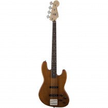 FENDER DELUXE ACTIVE JAZZ BASS OKOUME RW NATURAL