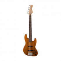 FENDER DELUXE ACTIVE JAZZ BASS V OKOUME RW NATURAL