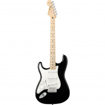 FENDER STANDARD STRATOCASTER LEFTY MN BLACK