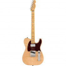 FENDER RARITIES FLAME MAPLE TOP CHAMBERED TELECASTER MN NATURAL