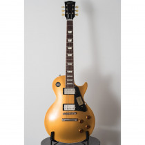 CHITARRA ELETTRICA GIBSON LES PAUL 1957 GOLDTOP REISSUE VOS V2 NECK (SLIM) ANTIQUE GOLD (CUSTOM SHOP)
