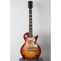 CHITARRA ELETTRICA GIBSON LES PAUL STANDARD VOS CS9 50'S STYLE WASHED CHERRY (CUSTOM SHOP)