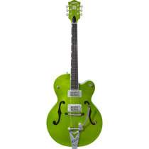 GRETSCH G6120T BRIAN SETZER SIGNATURE HOT ROD W/BIGSBY EXTREME COOLANT GREEN SPARKLE