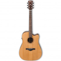 IBANEZ ARTWOOD TRADITIONAL ACOUSTIC AW65ECE NATURAL LOW GLOSS
