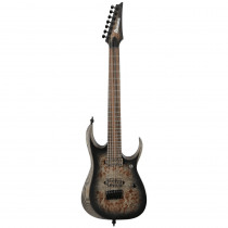 IBANEZ AXION LABEL RGD71ALPA CHARCOAL BURST BLACK STAINED FLAT