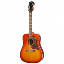 EPIPHONE INSPIRED BY GIBSON HUMMINGBIRD 12 STRING AGED CHERRY SUNBURST GLOSS