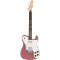 SQUIER AFFINITY TELECASTER DELUXE LL BURGUNDY MIST