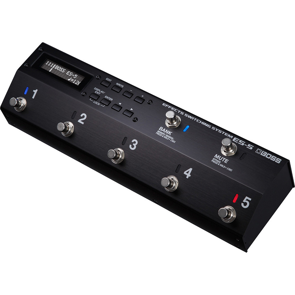 PEDALE SWITCH MIDI 5 LOOP BOSS ES 5 EFFECTS SWITCHING SYSTEM