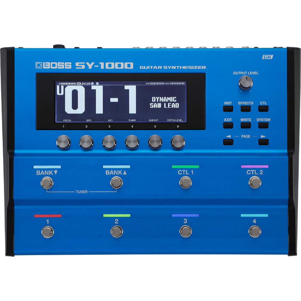 BOSS SY 1000 GUITAR SYHTHESIZERS