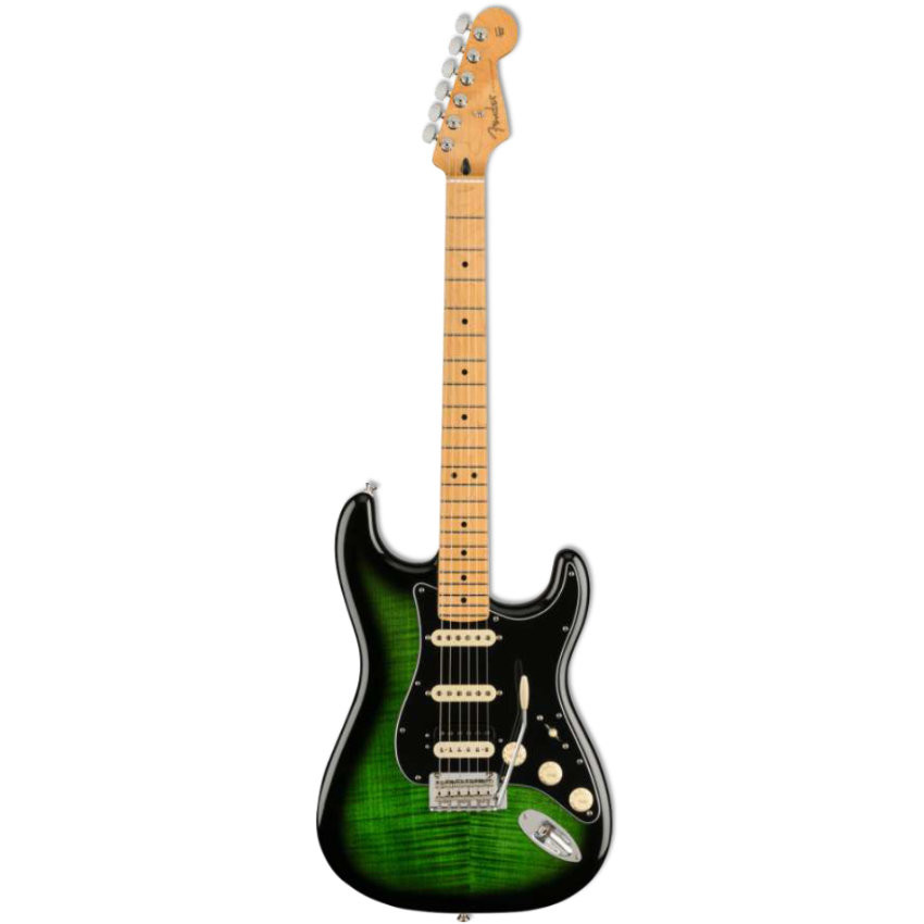 FENDER LIMITED EDITION PLAYER STRATOCASTER HSS PLUS TOP MN GREENBURST