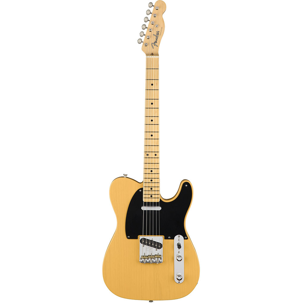 FENDER AMERICAN ORIGINAL '50S TELECASTER MN BUTTERSCOTH BLONDE