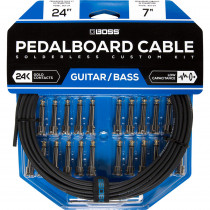 BOSS BCK 24 SOLDERLESS PEDALBOARD CABLE KIT (24 PZ)