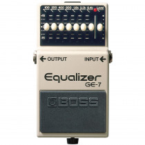 BOSS GE 7 GRAPHIC EQUALIZER