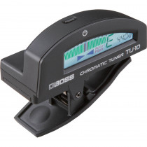 BOSS TU 10 CLIP ON CHROMATIC TUNER BLACK