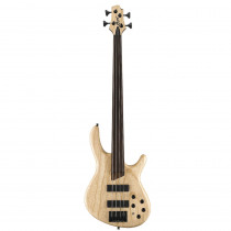 BASSO ELETTRICO CORT ARTISAN B4FL PLUS AS FRETLESS OPEN PORE NATURAL