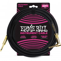 ERNIE BALL BRAIDED BLACK STRAIGHT/90-7,62M
