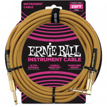 ERNIE BALL BRAIDED GOLD STRAIGHT/90 7,62M