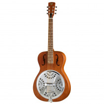 DOBRO EPIPHONE HOUND DOG ROUND NECK VINTAGE BROWN