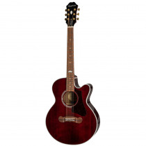 EPIPHONE EJ 200 COUPE WINE RED
