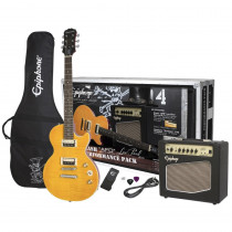"PACK CHITARRA ELETTRICA EPIPHONE LES PAUL SLASH ""AFD"" PERFORMANCE PACK APPETITE AMBER"