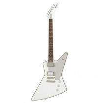 "EPIPHONE LIMITED TOMMY THAYER ""WHITE LIGHTNING"" EXPLORER METALLIC WHITE"