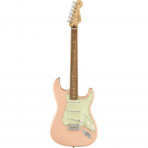 FENDER LIMITED EDITION PLAYER STRATOCASTER PF W/3PLY MINT PICKGUARD SHELL PINK