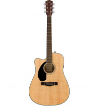 FENDER CD 60SCE WL LEFTY NATURAL