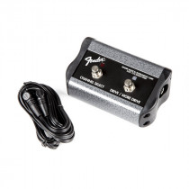 FENDER 2 BUTTON 3 FUNCTION FOOTSWITCH CHANNEL-GAIN-MORE GAIN