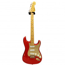 FENDER LIMITED EDITION '57 STRATOCASTER GOLD HARDWARE LUSH CLOSET CLASSIC MN MELON CANDY (CUSTOM SHOP)