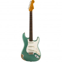 FENDER WINTER NAMM 2021 LIMITED EDITION 1959 STRATOCASTER RELIC RW FADED/AGED SHORELINE GOLD (CUSTOM SHOP)