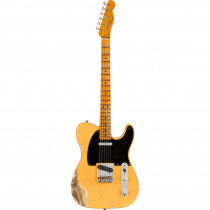 FENDER LIMITED EDITION 70TH ANNIVERSARY BROADCASTER HEAVY RELIC MN NOCASTER BLONDE (CUSTOM SHOP)
