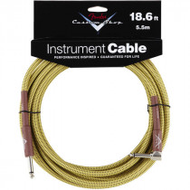 FENDER CUSTOM SHOP CABLES 5,5M TWEED (STRAIGHT-RIGHT ANGLE)