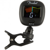 FENDER FCT 2 COLOR CLIP ON TUNER