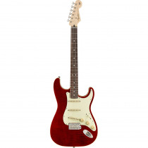 FENDER LIMITED EDITION AERODYNE CLASSIC STRATOCASTER FLAME TOP RW CRIMSON RED
