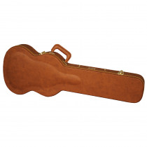 GATOR DELUXE WOOD CASES GW SG BROWN