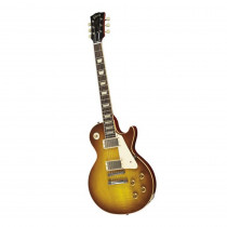 CHITARRA ELETTRICA GIBSON LES PAUL 1958 LIGHTLY FIGURED CHAMBERED VOS BOURBURST (CUSTOM SHOP)