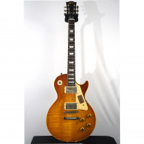 CHITARRA ELETTRICA GIBSON LES PAUL STANDARD 1959 MIKE MC CREADY AGED&SIGNED VINTAGE BROWN (CUSTOM SHOP)