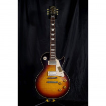 CHITARRA ELETTRICA GIBSON LES PAUL STANDARD VOS CS9 '50S STYLE FADED TOBACCO (CUSTOM SHOP)