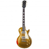 "GIBSON LES PAUL STANDARD ""PAINTED OVER"" GOLD OVER CHERRY SUNBURST (CUSTOM SHOP)"