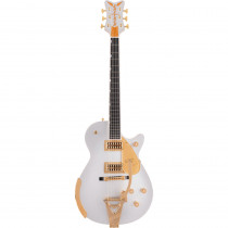 GRETSCH G6134T LIMITED EDITION PENGUIN W/BIGSBY FIREMIST SILVER