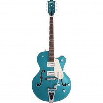 """GRETSCH ELECTROMATIC G5410T LIMITED EDITION """"TRI FIVE"""" SINGLE CUT W/BIGSBY TWO TONE OCEAN TURQUOISE/VINTAGE WHITE"""