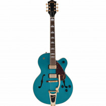 GRETSCH STREAMLINER HOLLOW BODY G2410TG SINGLE CUT W/BIGSBY GOLD HARDWARE OCEAN TOURQUOISE