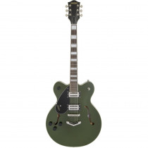 GRETSCH G2622 STREAMLINER CENTER BLOCK W/V STOPTAIL LEFTY TORINO GREEN