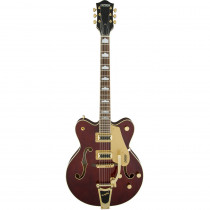 GRETSCH ELECTROMATIC G5422TG DOUBLE CUT W/BIGSBY AND GOLD HARDWARE WALNUT STAIN